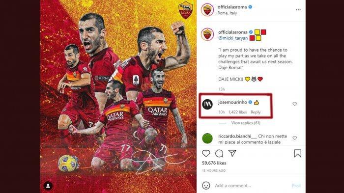 Transfer AS Roma - Mkhitaryan Bertahan, Jose Mourinho Kasih Jempol, Xhaka Rekrutan Pertama Roma?