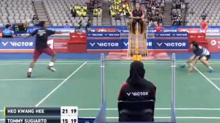HASIL KOREA OPEN 2018 - Derby Indonesia di Semifinal, Tommy Sugiarto Hadapi Jonatan Christie
