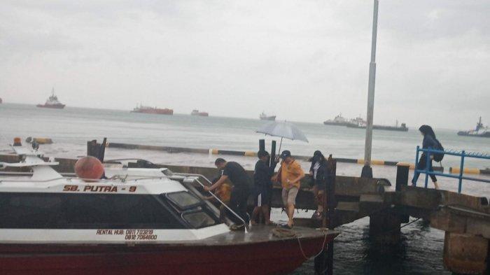 Hujan Lebat Landa Batam, Penyeberangan Batam-Bintan Via Speedboat Ditutup Satu Jam
