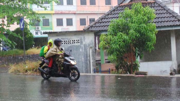 Info Cuaca Kepri, BMKG Prediksi Tanjungpinang - Bintan Hujan Mulai 10 Juli 2021