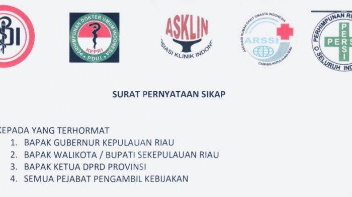 Surati Pemerintah Daerah, Tanpa APD Memadai Ikatan Dokter dan 3 Organisasi Medis Tolak Layani Pasien