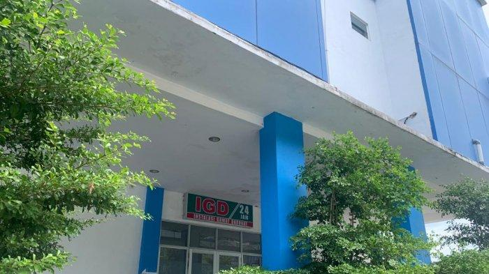 RSUD TAREMPA - Instalasi Gawat Darurat (IGD) Rumah Sakit Umum Daerah (RSUD) Tarempa, Kecamatan Siantan, Kabupaten Kepulauan Anambas, Provinsi Kepri, Rabu (30/6/2021). Tiga RSUD pada pulau besar di Anambas nihil menampung pasien covid-19.