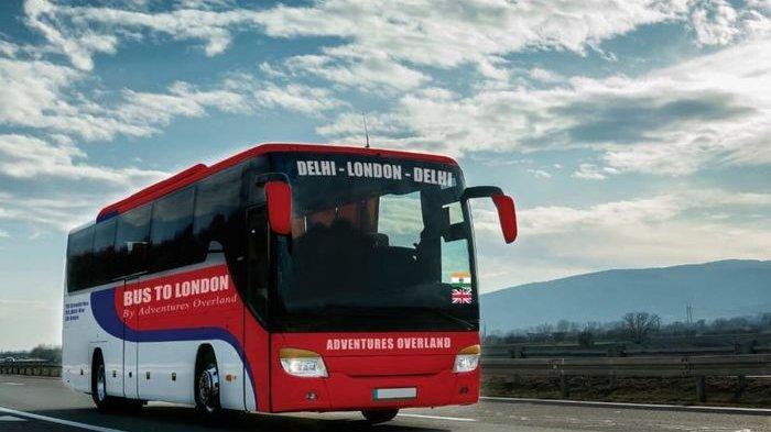 Perusahaan Ekspedisi Ini Tawarkan Perjalanan Menaiki Bus dari India Ke London Selama 70 Hari