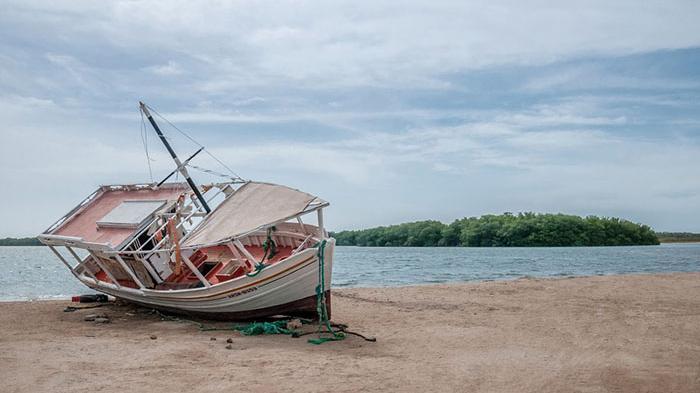 Speedboat Jurusan Tanjung Buton Riau - Karimun Kandas, Ini Kata Kasat Polairud Polres Karimun