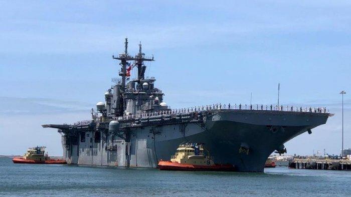 Ilustrasi kapal perang Amerika Serikat