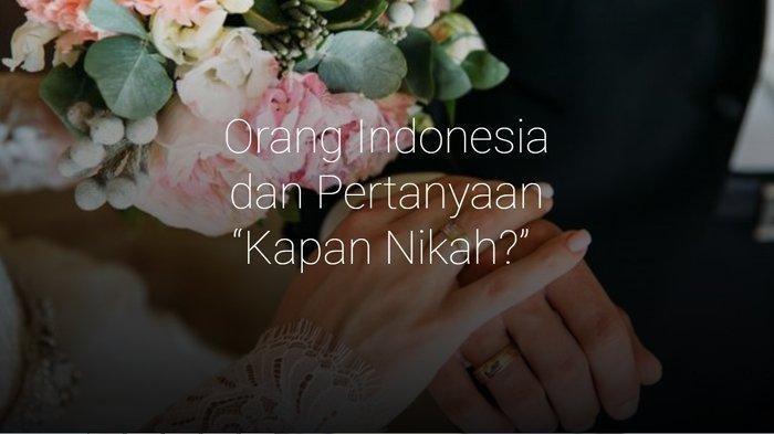 6 Jawaban Ampuh dari Pertanyaan 'Kapan Nikah' saat Lebaran Idul Fitri 1440 H, Dijamin Tak Mati Gaya
