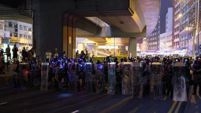 Sempat Damai, Kerusuhan di Hong Kong Kembali Pecah Hingga Gunakan Semprotan Merica