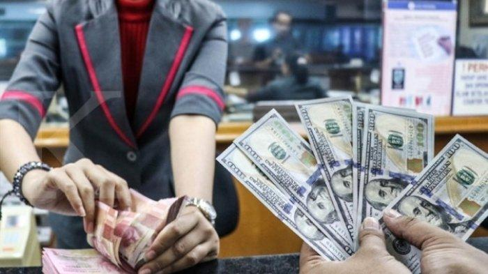 RUPIAH HARI INI - Menguat 0,04%, Rupiah  di Posisi  Rp 14.144 per dolar AS