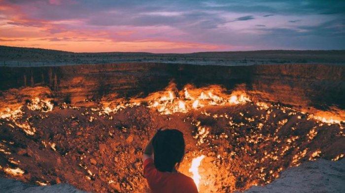 5 Fakta Unik Berwisata ke Turkmenistan, Punya Kawah Api yang Tak Pernah Padam