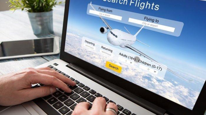 Ilustrasi mendapatkan tiket pesawat harga murah