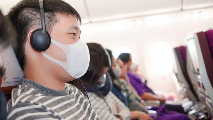 Pakai Masker Saja Tak Cukup, Bagaimana Cara Pencegahan Virus Corona di Pesawat?