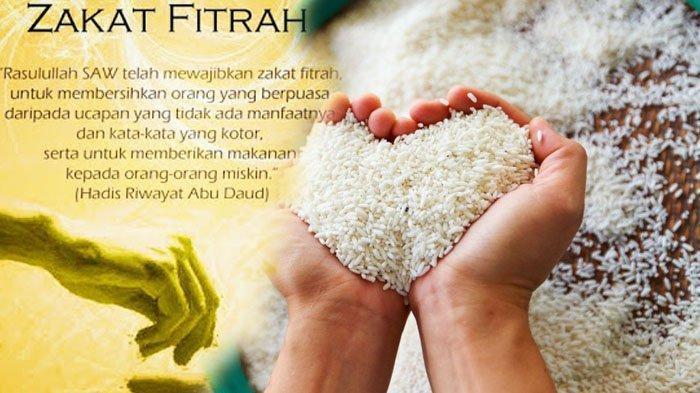 Bacaan Niat atau Doa Bayar Zakat Fitrah untuk Diri Sendiri, Istri dan Untuk Anak