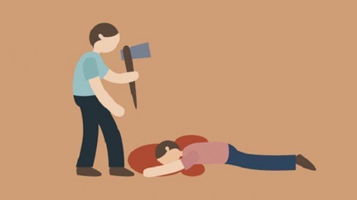 Pria di Sumbar Bacok Ayah Kandung dan Teriak 'Setannya Sudah Aku Bunuh', Kini Diperiksa Dokter Jiwa