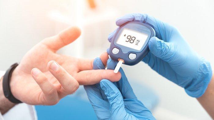 Ilustrasi pengetesan diabetes