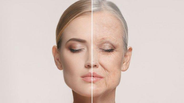 ILUSTRASI - Penuaan dini ditandai dengan munculnya keriput.
