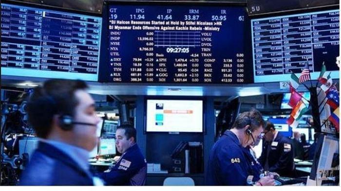 Ilustrasi pergerakan saham Asia