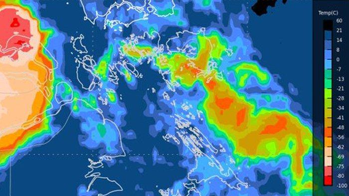Prakiraan Cuaca Kepri Hari Ini dari BMKG: Sebagian Besar Berawan, Hujan Berpotensi Turun di Lingga