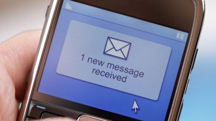 Ilustrasi SMS baru