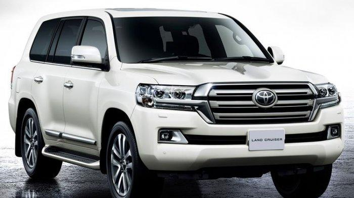 Ilustrasi Toyota Land Cruiser