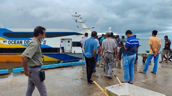 Imbas PPKM Darurat Batam Tanjungpinang, Kapal Tujuan Lingga Berhenti Beroperasi