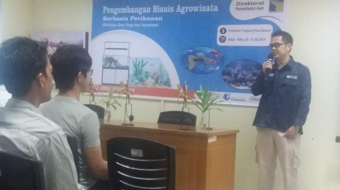 Optimalisasi Aset, BP Batam Gelar Pelatihan Budidaya Ikan Guppy dan Aquascape