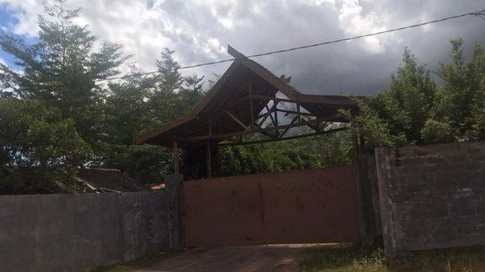 Foto Vila Bupati Bintan yang berada di Kampung Wacopek,RT 02/RW 04,Kelurahan Gunung Lengkuas,Bintan Timur.(alfandi)