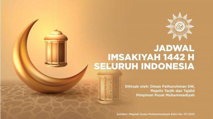 Jadwal Imsakiyah Ramadhan 1442 H/2021 Muhammadiyah untuk 35 Kota Indonesia, Download di SINI