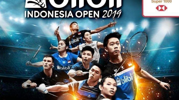 PBSI Minta Turnamen Indonesia Open 2020 Diundur ke Bulan September 2020