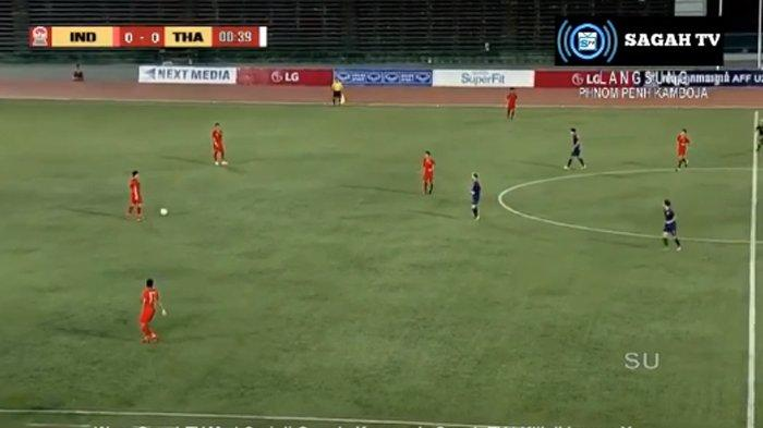 Hasil Timnas U22 Indonesia vs Thailand Final Piala AFF U22 2019 - Babak Pertama Skor Imbang 0-0