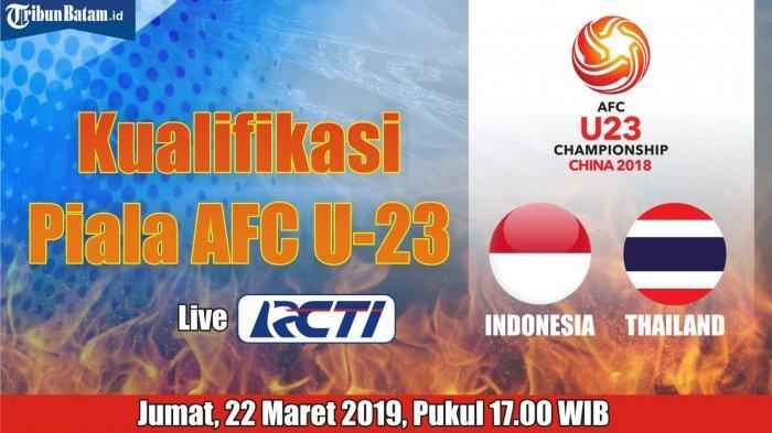 Indonesia vs Thailand - Matangkan Taktik, Pelatih Indra Sjafri Usung Misi Wajib Menang