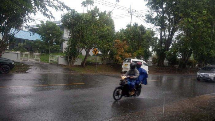 Info Cuaca Kepri - BMKG Prediksi Tanjungpinang Bintan Hujan 3 Hari Kedepan