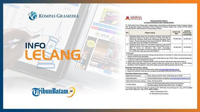 Informasi Pengumuman Lelang PT. BPR Artha Prima Perkasa, 26 DESEMBER 2018