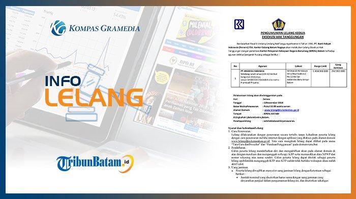 Informasi Pengumuman Lelang PT, Bank Rakyat Indonesia Selasa, 30 Oktober 2018
