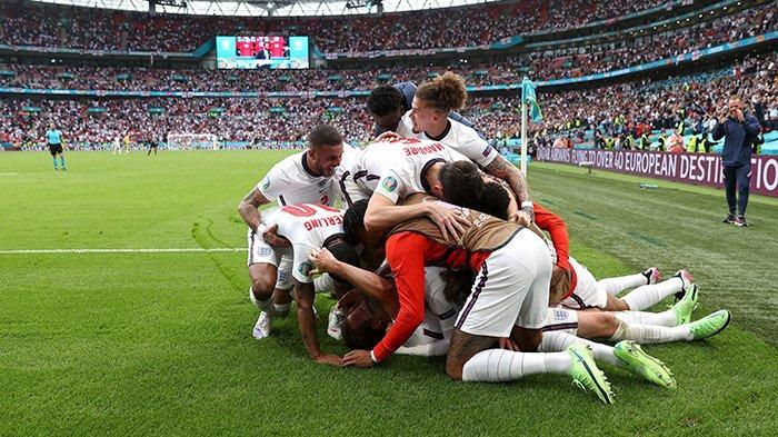 Hasil Inggris vs Jerman, Sterling & Harry Kane Cetak Gol Inggris Menang, Lolos ke Perempat Final