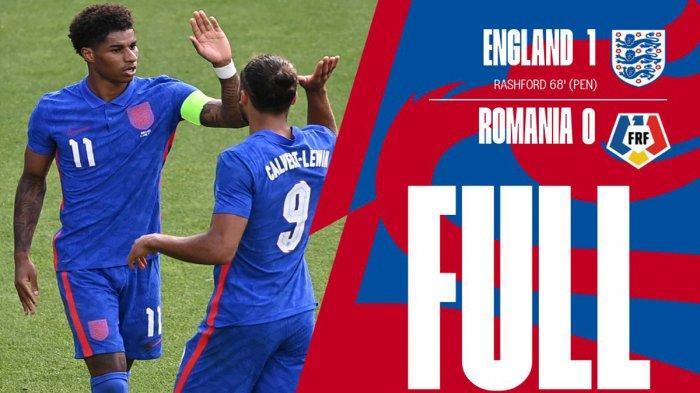 Hasil Inggris vs Rumania, Jordan Henderson Gagal Penalti, Marcus Rashford Cetak Gol, Inggris Menang