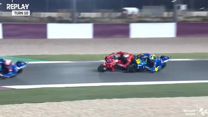 Senggolan di MotoGP Doha, Joan Mir Sebut Jack Miller Tak Punya Rasa Hormat: Melebihi Batas!