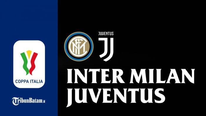 Semifinal Coppa Italia Inter Milan vs Juventus - Semifinal leg 1 Inter vs Juventus akan berlangsung Selasa (2/2/2021) malam atau Rabu dinihari WIB.