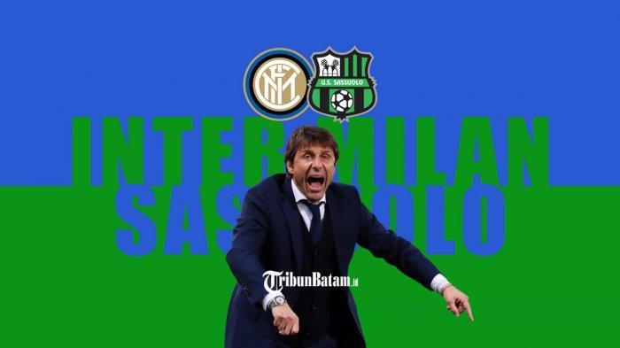 Inter Milan vs Sassuolo - Pelatih Inter Milan Antonio Conte bicara soal pertandingan Inter vs Sassuolo, Rabu (7/4/2021) malam pukul 23.45 WIB