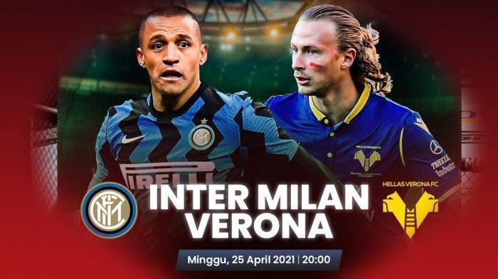 Inter Milan vs Verona Kick Off Pukul 20.00 WIB, Antonio Conte: Saya Tak Akan Bicara Scudetto