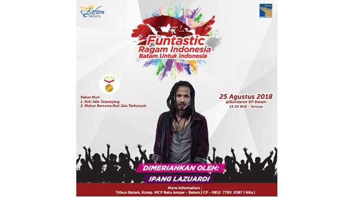 Suarakan Nasionalisme Lewat Lagu, Ipang Siap Tampil di Funtastic Ragam Indonesia 2018