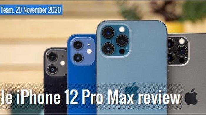 Daftar Harga dan Spesifikasi iPhone 12 & iPhone SE 2020 hingga iPhone X