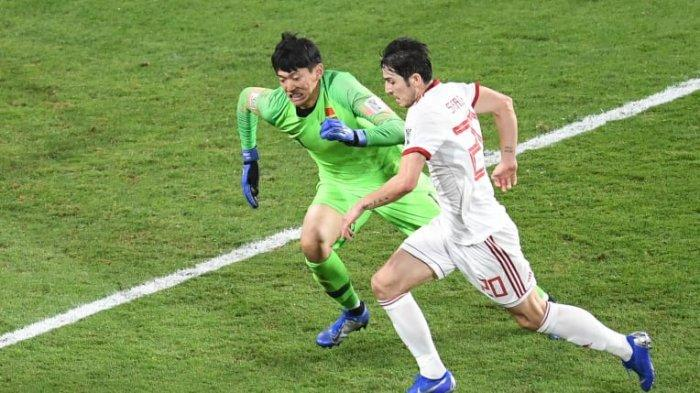Hasil Piala Asia 2019 - Benamkan China, Iran Tantang Jepang di Semifinal