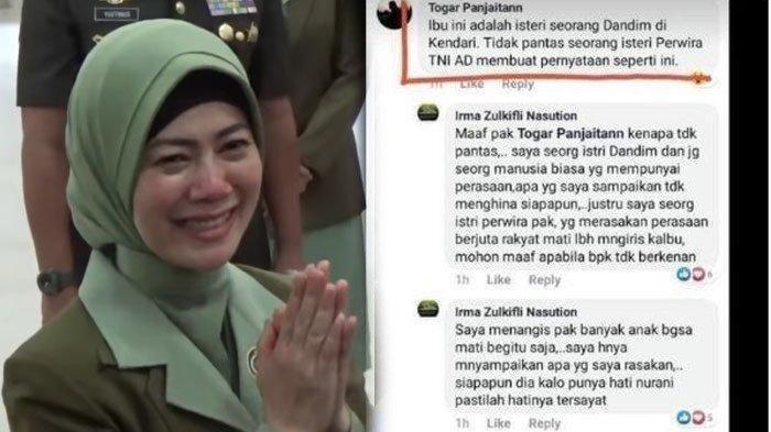 Ditegur Postingan Facebook,Irma Zulkifli Nasution Beberkan Profesi Ayah, Kakek, Serta Ponakan