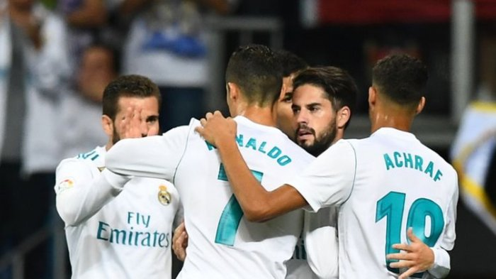 Real Madrid vs Espanyol - Dua Gol Isco Menangkan Real Madrid di Bernabeu. Satu Assist Ronaldo