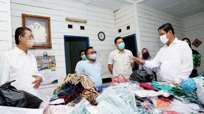 Isdianto Kagumi Peran UMKM di Kepri Bantu Penanganan Virus Corona, Tetap Jaga Kualitas Produksi