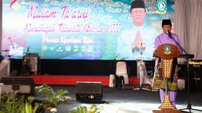 Isdianto Lantik Eks Menteri Agama Era Megawati Jadi Hakim di Tanjungpinang