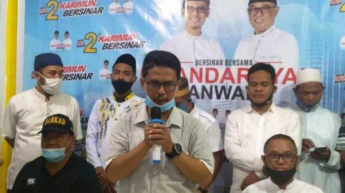 Iskandarsyah Minta Maaf ke Warga Karimun, Beri Selamat Aunur Rafiq Menang Sidang MK