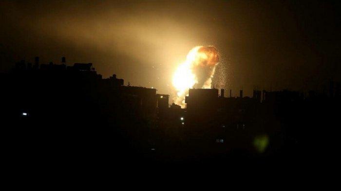 Jet Tempur Israel Bombardir 80 Titik di Gaza, Rumah Sakit Indonesia Juga Rusak Berat