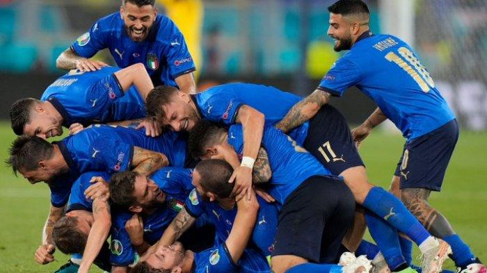 Tekuk Swiss 3-0, Italia jadi Tim Pertama Lolos ke Babak 16 Besar Euro 2020