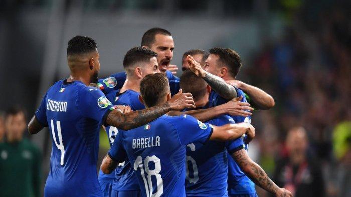 LINK Live Streaming Mola TV Italia vs Yunani Kualifikasi Euro 2020 Malam Ini, Kick Off 01.45 WIB